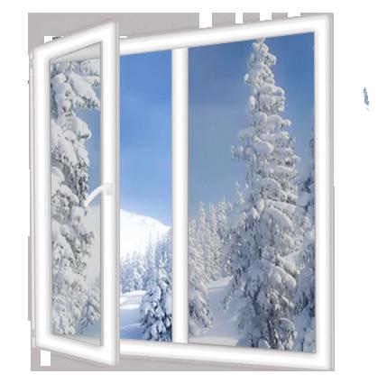 Пластиковое окно больше-тепла