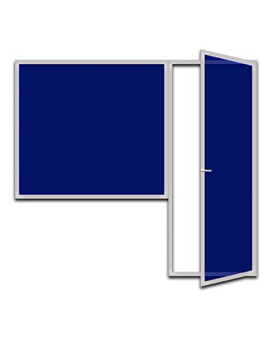 Пластиковые балконные блоки с одной дверью и панорамным стеклом